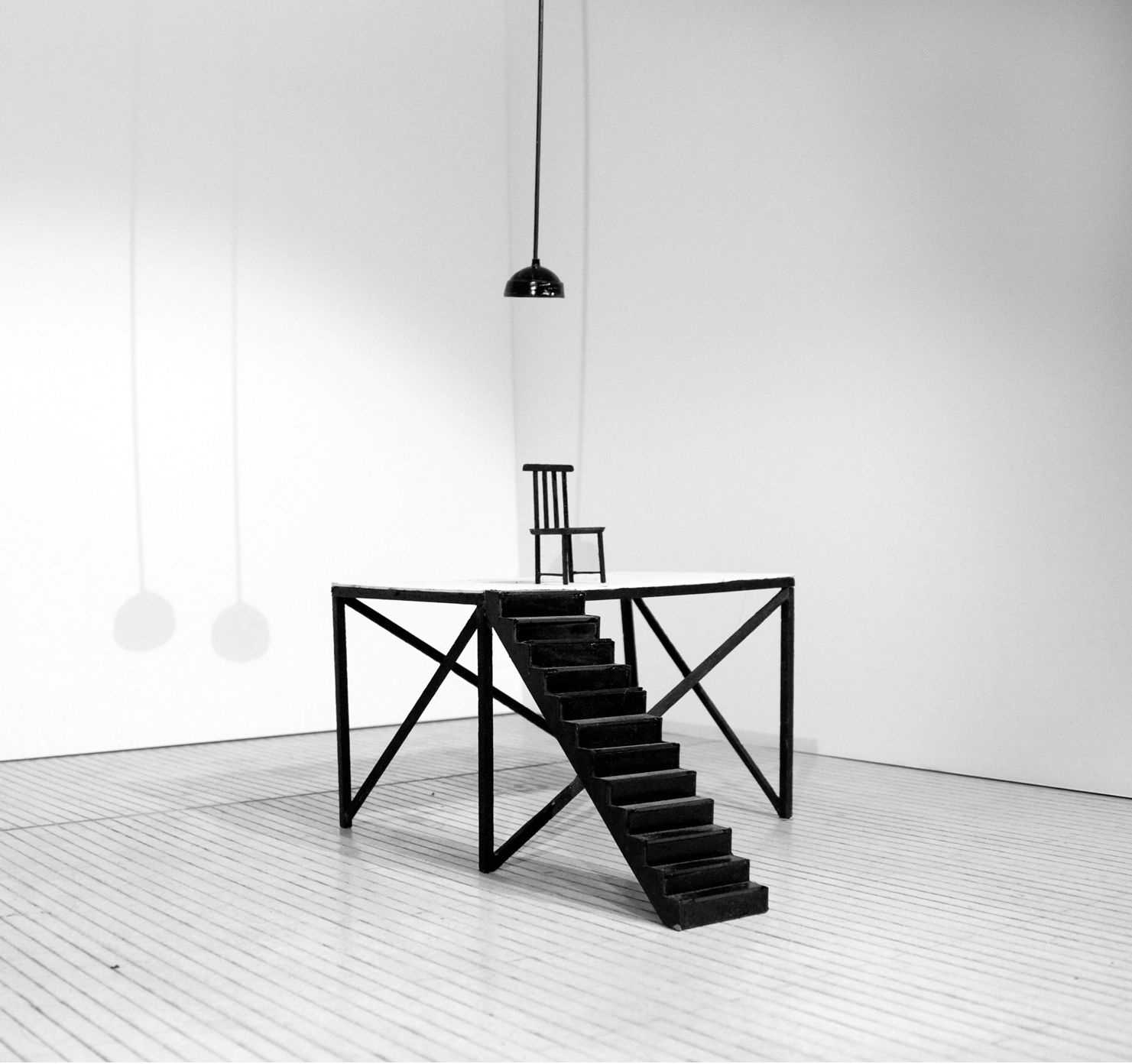 Gallery Series: Platform & Chair