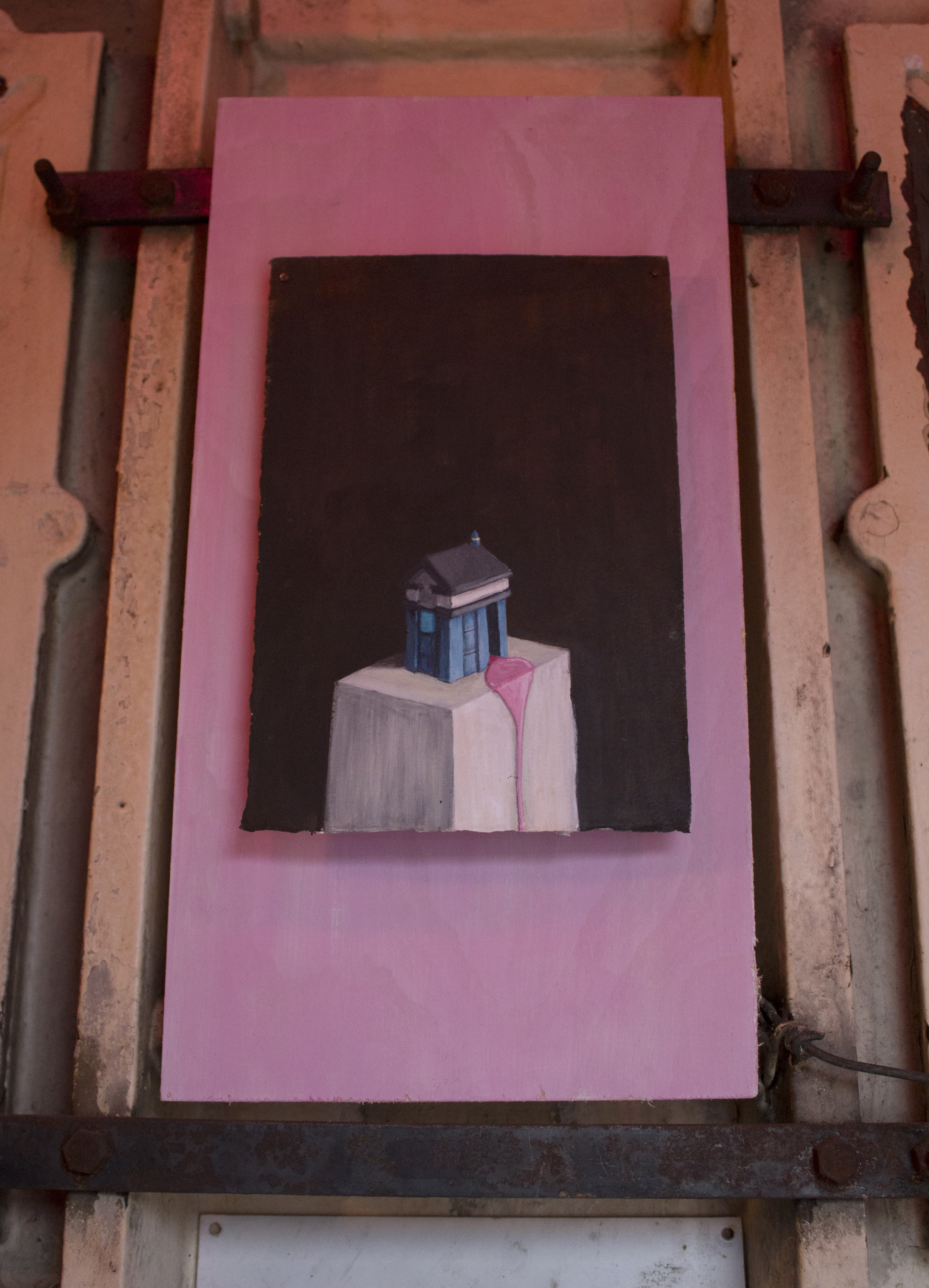 Tardis painting install shot