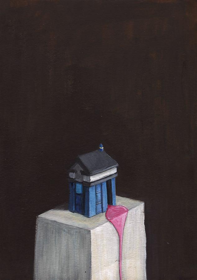 TARDIS pouring