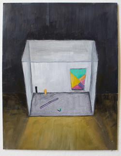 Staged Painting + Purple