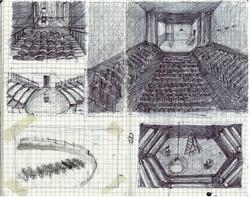 Sketchbook drawing 2011