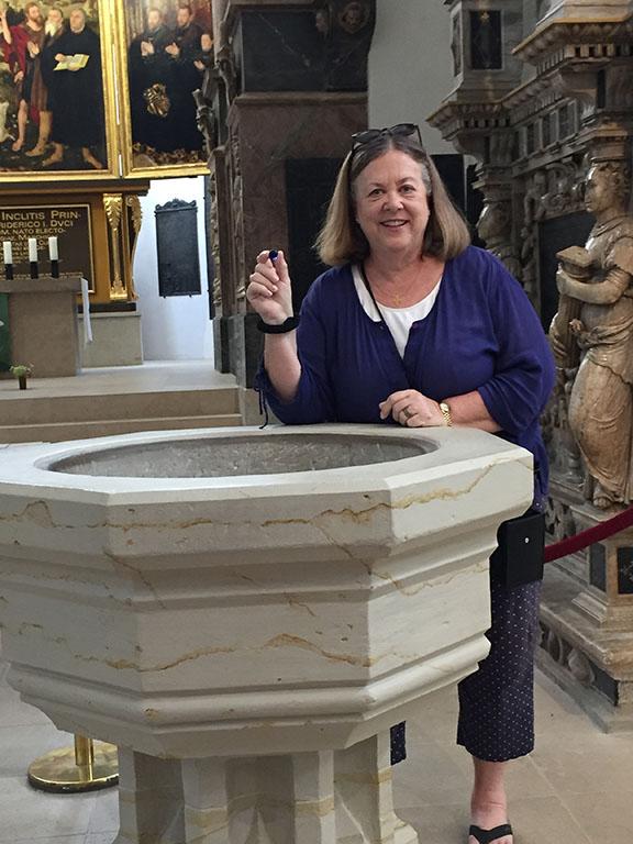 Susan Baptismal Font
