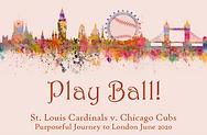 Play Ball London Logo Harrington Plain r