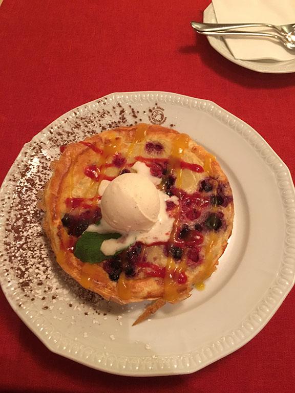 Goethe Dessert