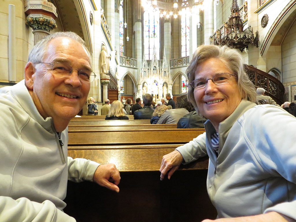 Dennis and Jan Schlosskirche