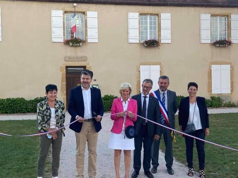 Inauguration du centre-bourg à Neuvy-Grandchamp