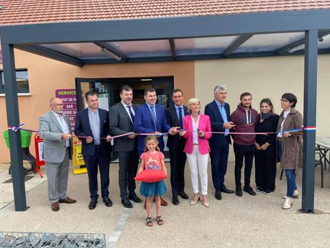 Inauguration du nouveau commerce à Saint-Symphorien-des-Bois