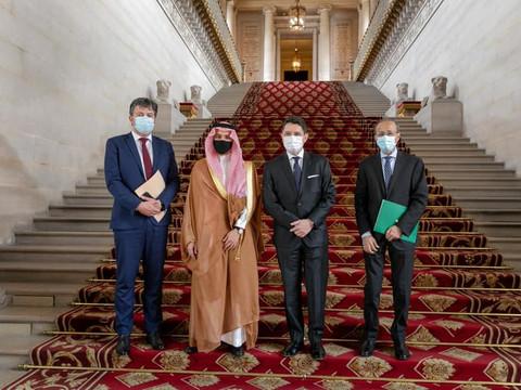 Rencontre avec le Ministre des affaires étrangères d'Arabie Saoudite
