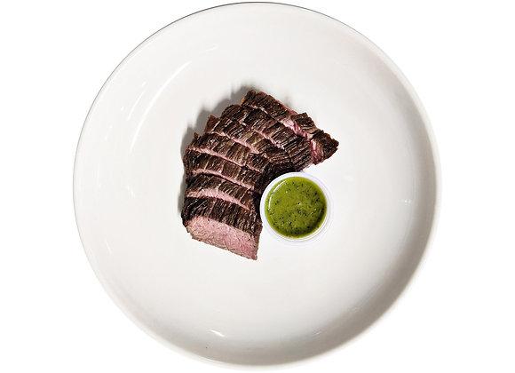 Grass Fed Steak with Chimichurri
