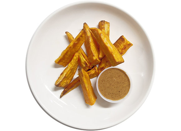 Sweet Potato Wedges with Miso