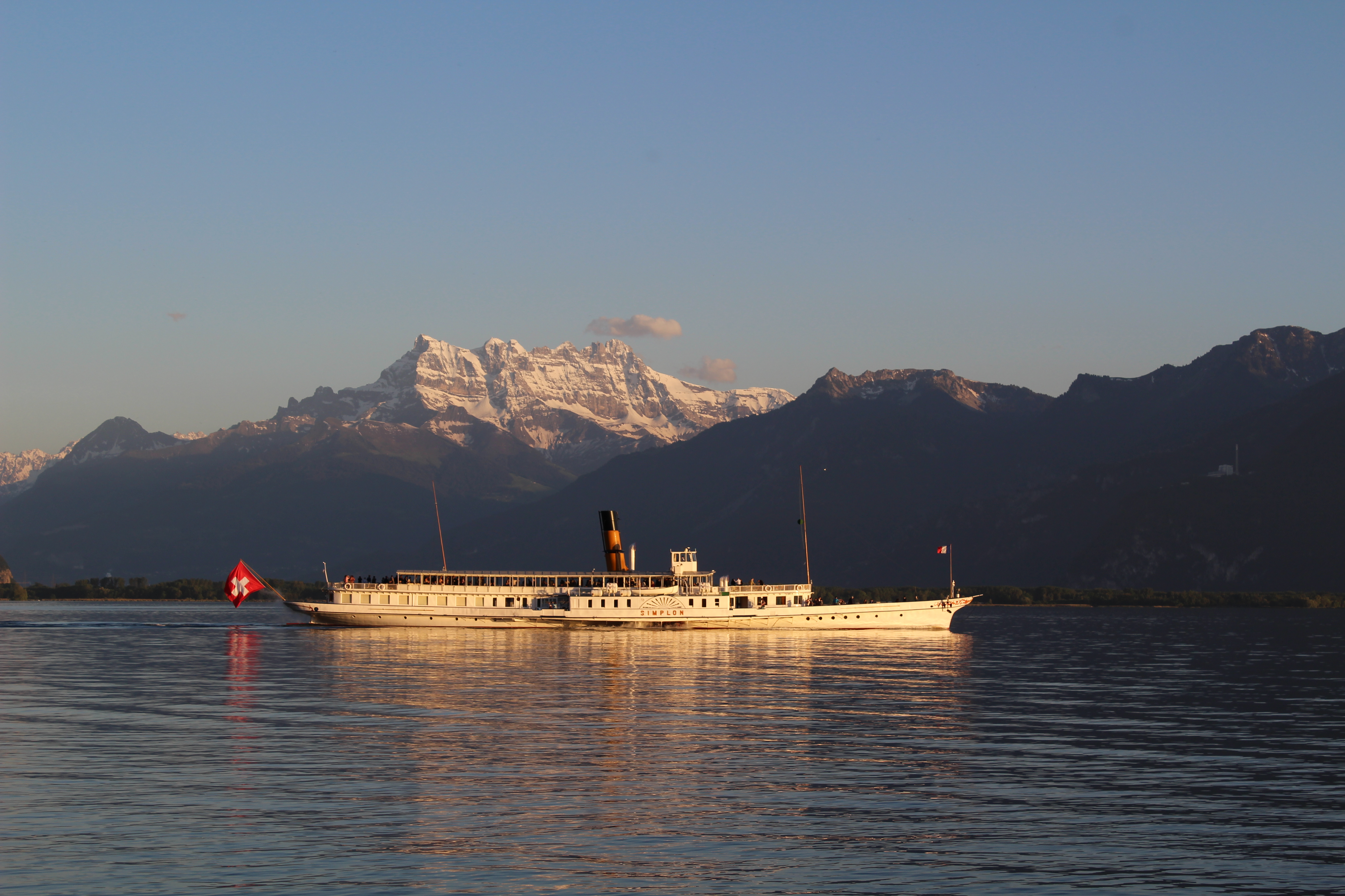 Montreux late evening cruise