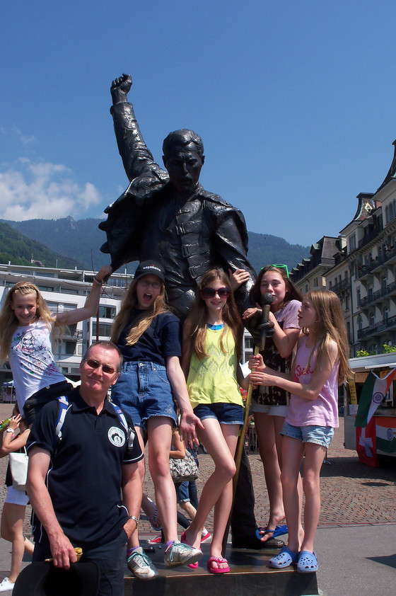 Swiss Guides discover Montreux