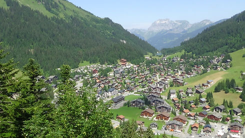 Morgins, Traditional Swiss Village