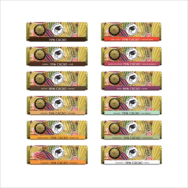 small chocolate bar flavours