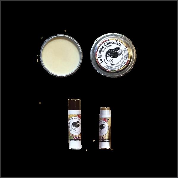 cacao butter, cacao lip balm
