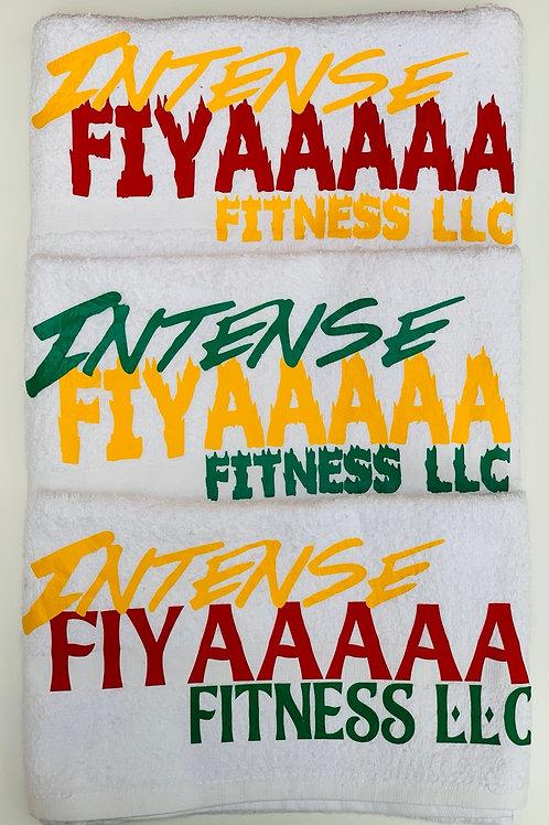 Intense Fiyaaaaa Fitness LLC Towels