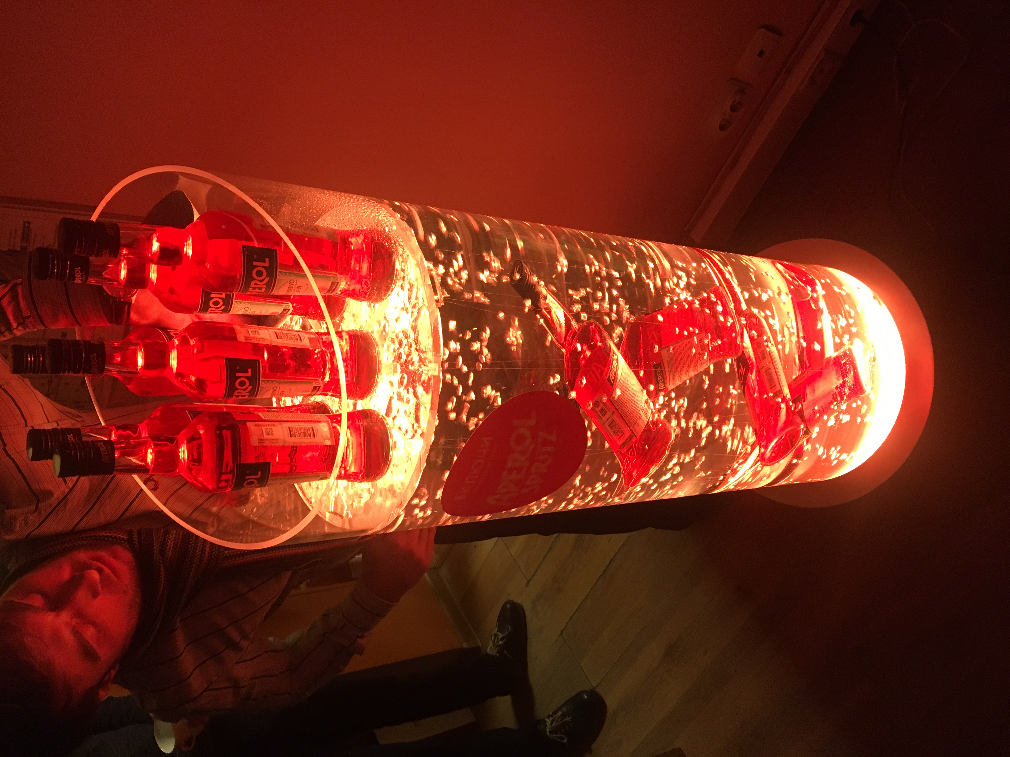 Трубы с подсветкой из акрила