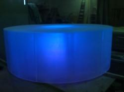 Подиум из акрила с LED RGB