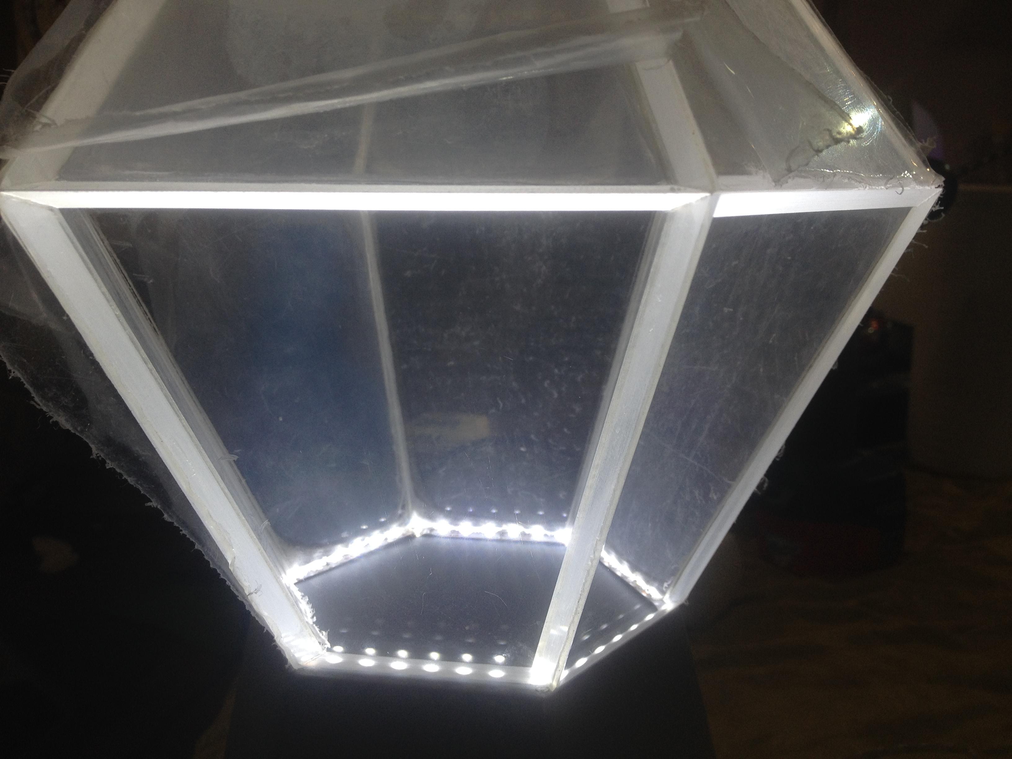 Изделия из акрила с LED