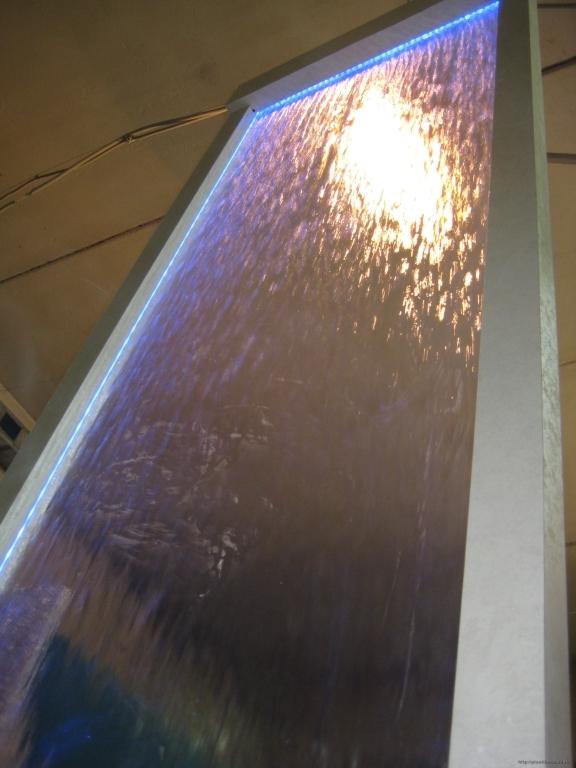 Водопад из Акрилового стекла