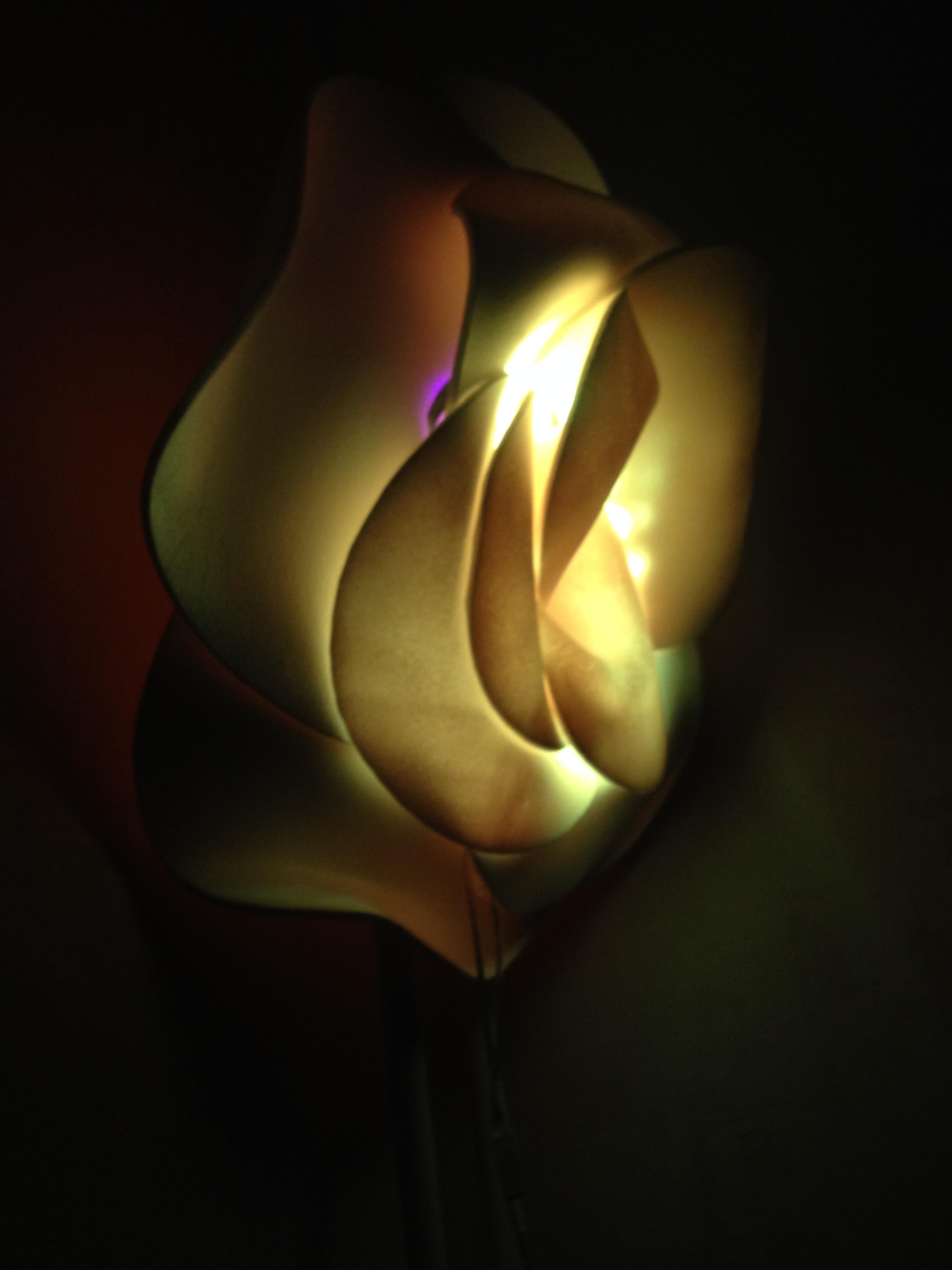 Лампа Цветок