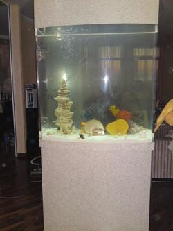 аквариум из акрила и иск.камня