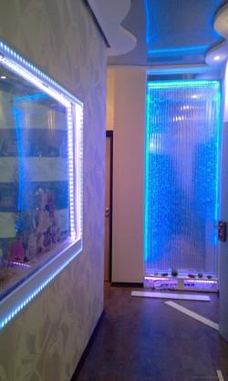 Аквариум и ВПП из акрила с LED