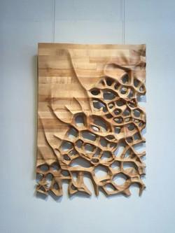 3D панели дерево