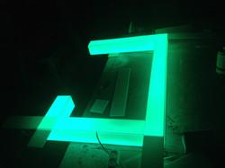 Акриловые RGB LED светильники