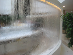 Водопад по Акрил Стеклу