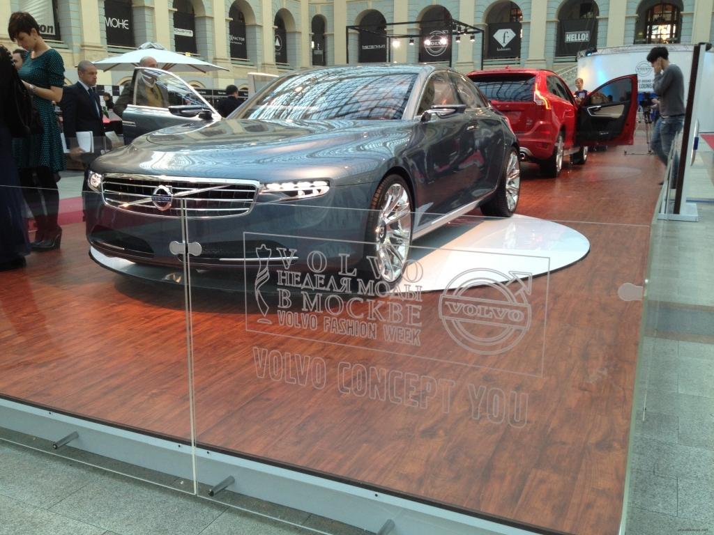 Оформление Неделя Моды Volvo