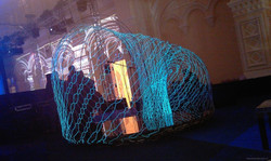 Люминофорная нитка (декорация)