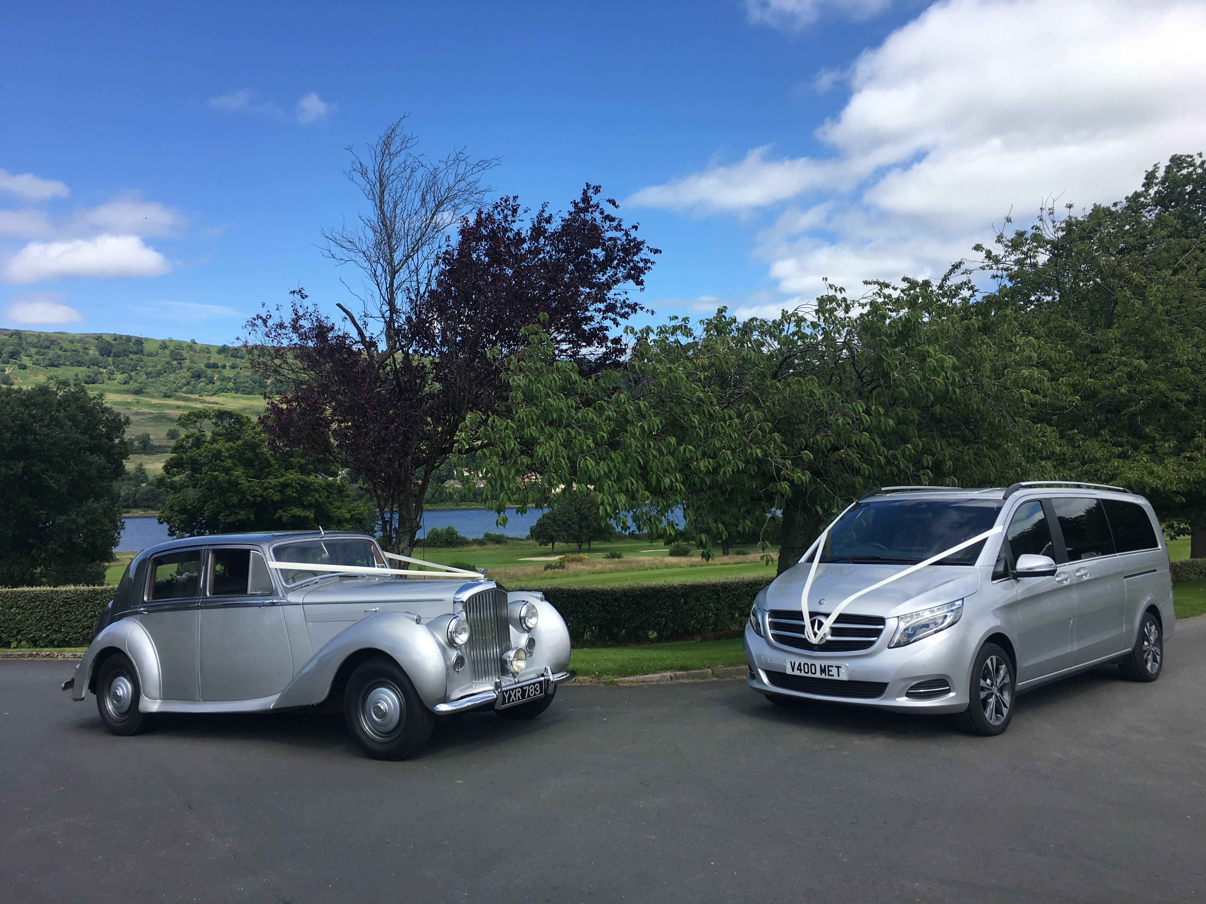 Bentley & Mercedes V Class
