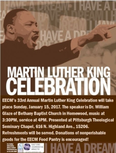 Dr. Martin Luther King Jr. Celebration, January 15, 2017