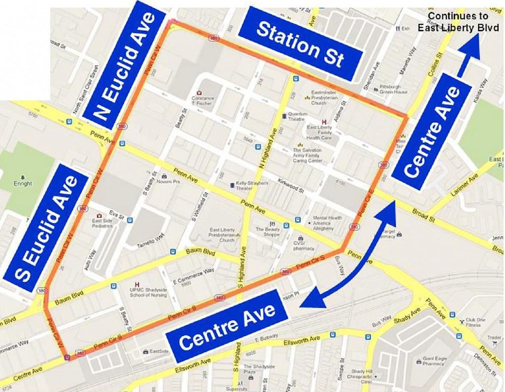 New street names map copy