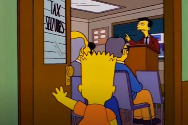 Analizamos esta escena de Los Simpson. Es real hay para comprar propiedades en USA por un dolar?