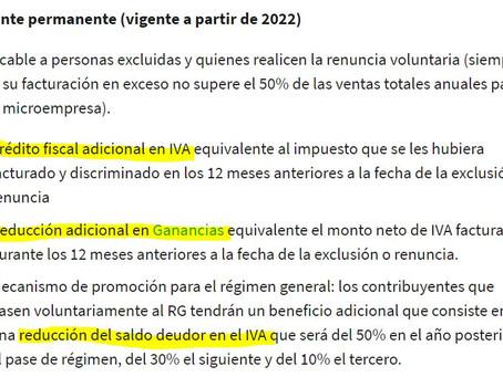 """MONOTRIBUTO: El """"Régimen Puente"""" es un desastre para el pequeño exportador"""