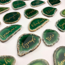 Agate Wedding Place Name