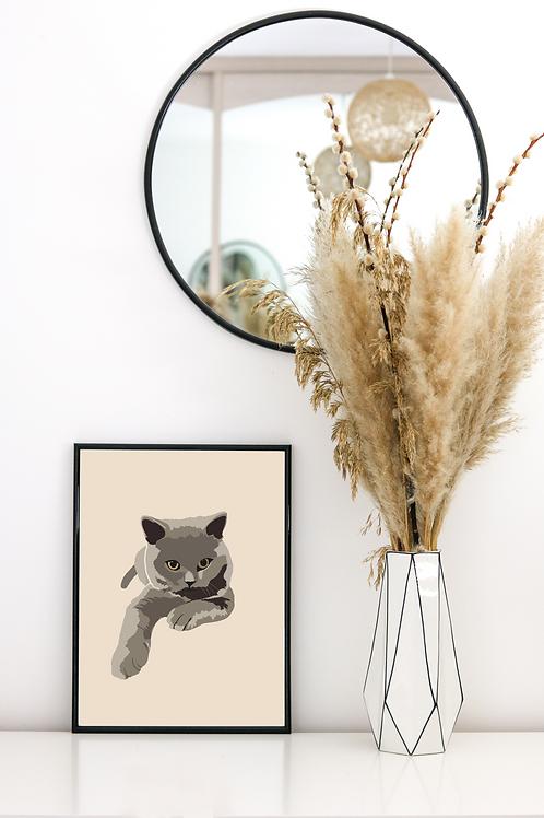 Pet Illustration Print