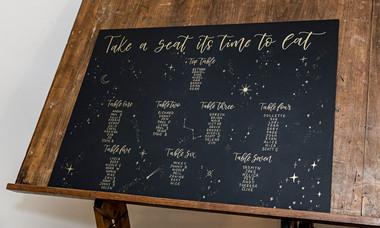 Celestial Seating Plan