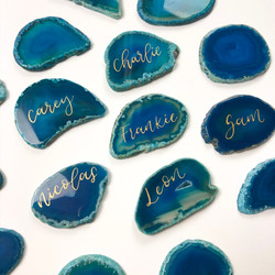 Agate Wedding Place Names