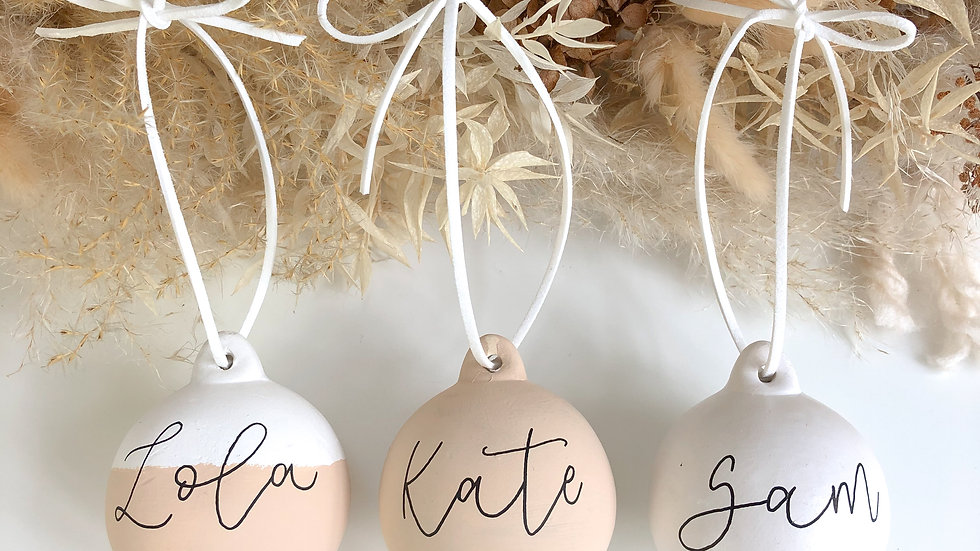 Pre Order Christmas Baubles
