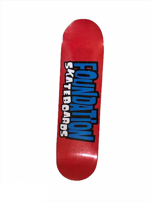 Foundation skateboard