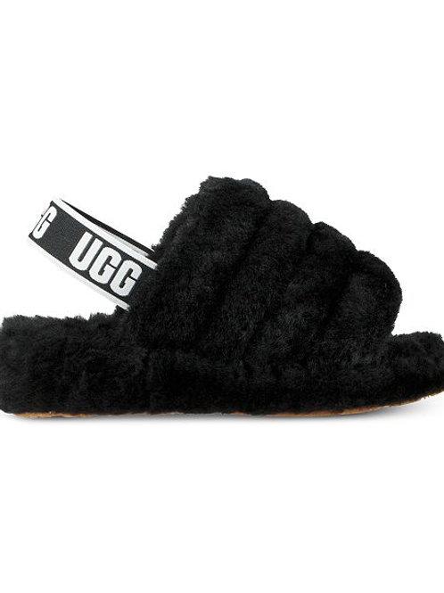 UGG Fluff  Yeah Slides (Black)