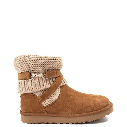 UGG Purl Strap Boot (Chestnut)