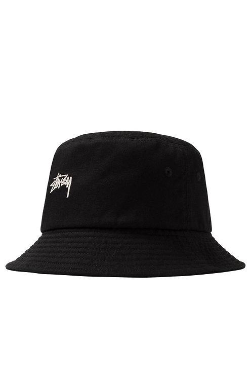 STOCK BUCKET HAT BLACK