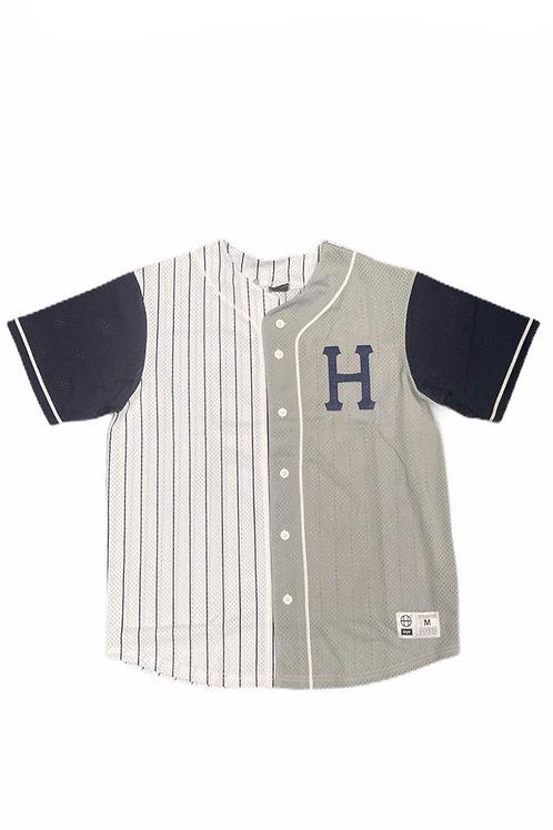 Harlem baseball jersey grey