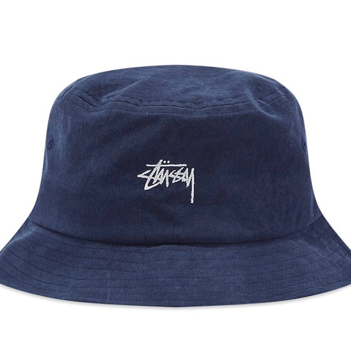 STOCK BUCKET HAT NAVY