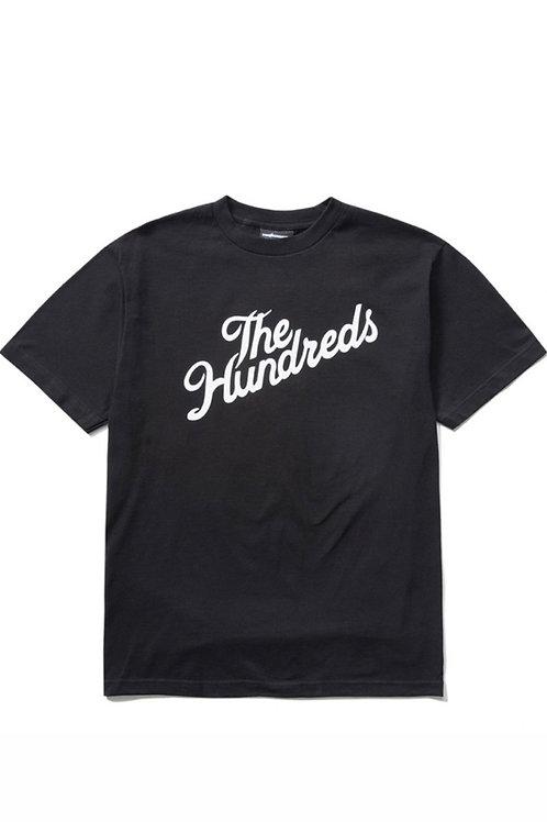 Slant Logo T-shirt (The Hundreds)