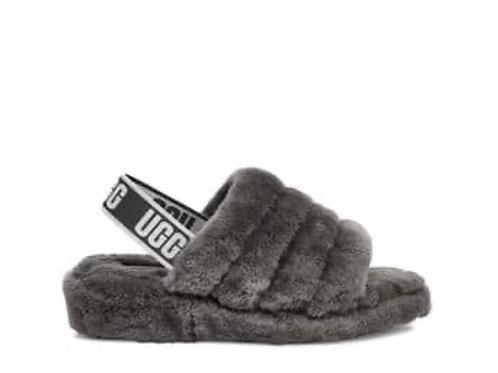 UGG Fluff  Yeah Slides (Grey)